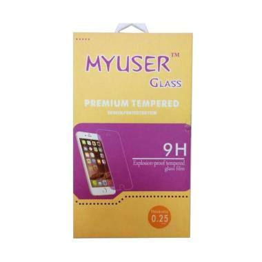 MyUser Tempered Glass Screen Protector for Oppo R815 or Clover - Clear