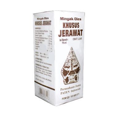 Wayang Obat Herbal Minyak Oles Khus ... yang Obat Jerawat [35 mL]