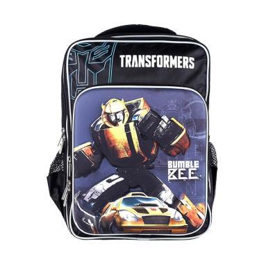 Transformers Gen Double Rucksack Large Bumblebee Tas Sekolah Anak