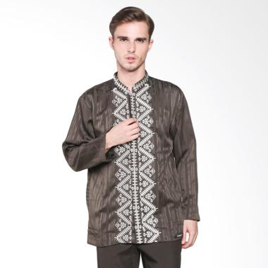 Preview By Itang Yunasz K59/015 Baju Koko - Dark Brown White