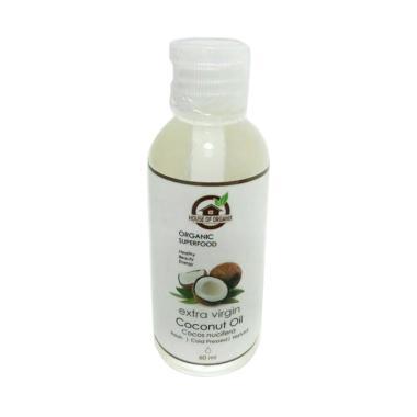 House of Organix Extra Virgin Coconut Oil Makanan Organik [60 mL]