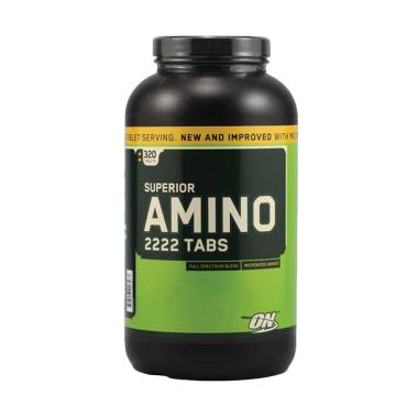 Optimum Nutrition Amino 2222 Suplement Kesehatan [320 Tablet]