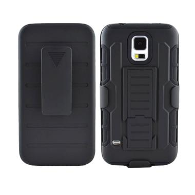 Armor Future Dual Layer Bumper Hybr ... Samsung Galaxy S5 - Hitam