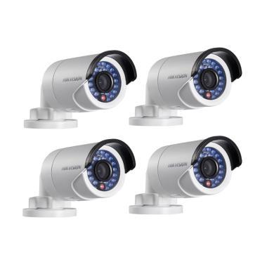 Hikvision 4 Camera Turbo HD Outdoor ... it CCTV Ekonomis/ 2.0 MP]
