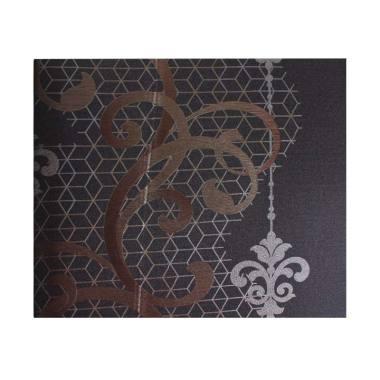 Java Wallpaper Century 506-4 Motif  ... er Dinding - Hitam Coklat