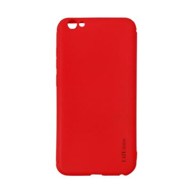 Lize Design Softshell Color Matte S ... y Case / Candy Case - Red