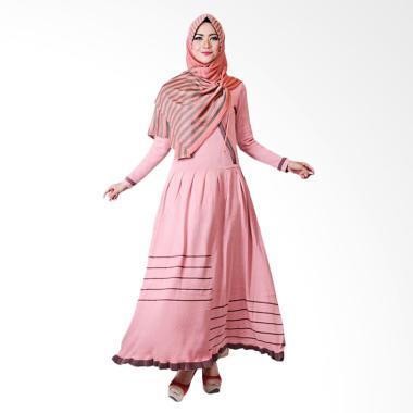 Supernova House Volita VLT Dress Muslim - Rose Burgundy