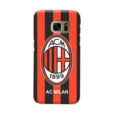 Indocustomcase AC Milan ACM06 Cover Casing for Samsung Galaxy S7 Edge