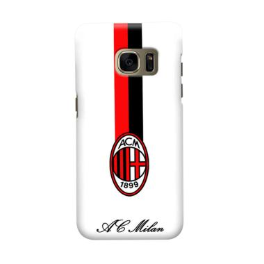 Indocustomcase AC Milan ACM07 Cover Casing for Samsung Galaxy S7 Edge