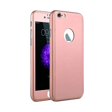 LOLLYPOP TPU 360 Casing for iPhone  ... Phone 6S Plus - Rose Gold