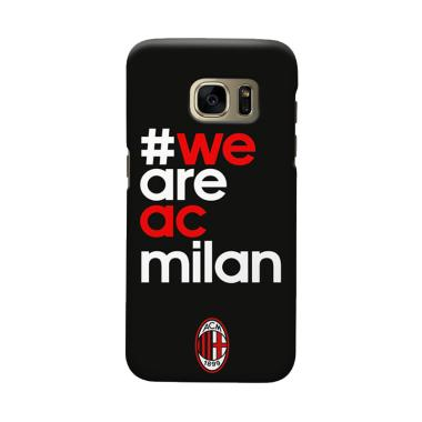 Indocustomcase AC Milan ACM01 Cover Casing for Samsung Galaxy S7