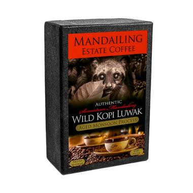 harga Mandailing Estate Coffee Pure Wild Kopi Luwak Drip Filter [50 g] Blibli.com