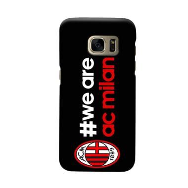 Indocustomcase AC Milan ACM02 Cover Casing for Samsung Galaxy S7