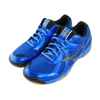 Mizuno Wave Twister 4 Sepatu VollyV1GA157094 - Strong Blue Black