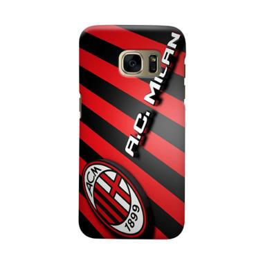 Indocustomcase AC Milan ACM05 Cover Casing for Samsung Galaxy S7