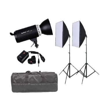Third Party Mini Master Godox A-250 Kits Paket Lampu Studio - Hitam