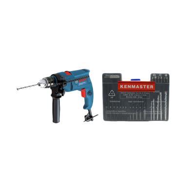 Bosch GSB 550 dan KENMASTER Mata Bo ...  Listrik/Besi/Kayu/Tembok