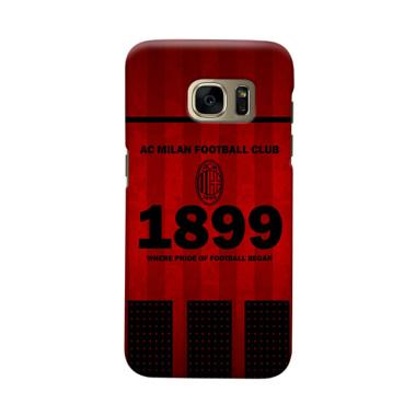 Indocustomcase AC Milan ACM08 Cover Casing for Samsung Galaxy S7