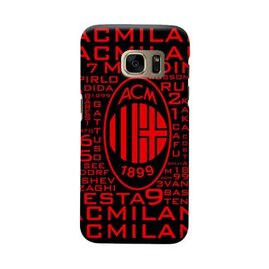 Indocustomcase AC Milan ACM09 Cover Casing for Samsung Galaxy S7