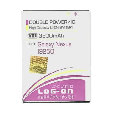 Log On Double Power Battery & IC for Samsung Galaxy Nexus [3500 mAh/ Garansi