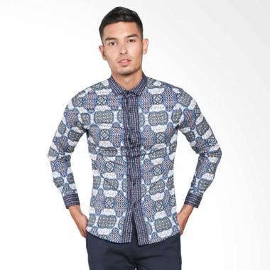 Gaya Jaya Batik Kemeja Batik Slimfi ... i Muslim Koko Jeans A8185
