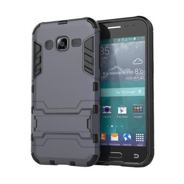 ProCase Shield Armor Kickstand Iron Man Series Casing For Samsung Galaxy J210 J2 2016