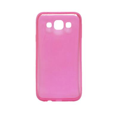 Ultrathin Transparant Softcase Casing for Samsung Note 3 neo N750 - Pink
