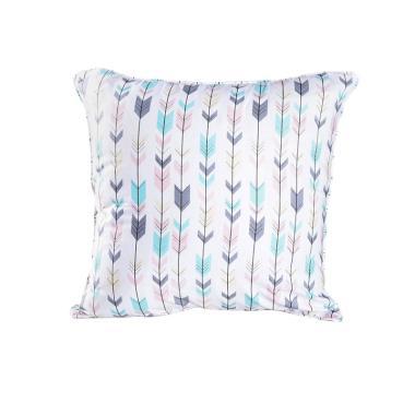FusionHome Motif Arrow Bantal Sofa dan Cover [40 x 40 cm]