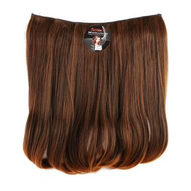 Seven7Revolution Big Layer Short Blow Hair Clip - Coklat Muda