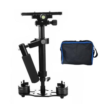Third Party Steady Cam S-40 DSLR Video Camera Stabilizer - Hitam