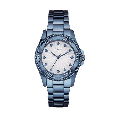 GUESS W0702L1 PINWHEEL Diamond Kyrs ...  Jam Tangan Wanita - Blue