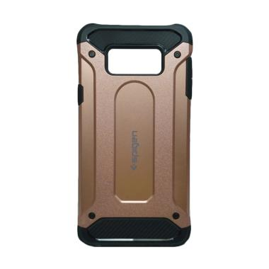 pretty nice 53dfd 3d758 Spigen Iron Army Cover Casing for Samsung Galaxy A9 Pro - Rose Gold