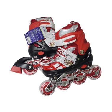 Allsportinggoods Actel Inline Skate Sepatu Roda - Merah [Size S]