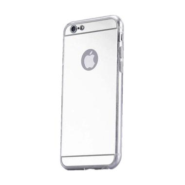 Kimi Mirror Case Aluminium Bumper B ... e iPhone 5/5S/SE - Silver
