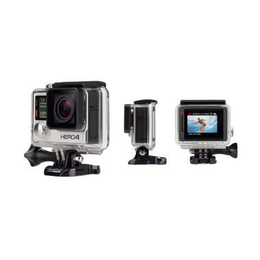 GoPro HERO4 Silver Action Camera [P ... Kamera dari Kimkom Store]