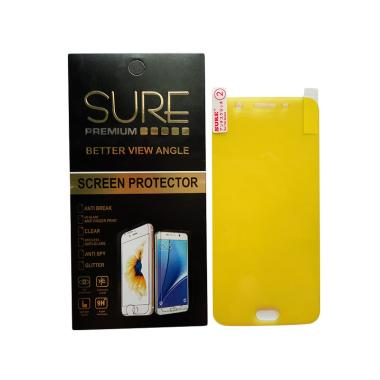 Sure Premium Anti Gores Screen Protector for Oppo F1S [Full Screen]