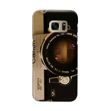 Indocustomcase Camera Canon FT QL Cover Casing for Samsung Galaxy S7