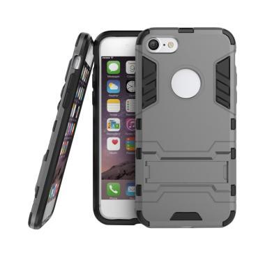 Procase Shield Armor Kickstand Iron ...  for iPhone 7 Plus - Grey
