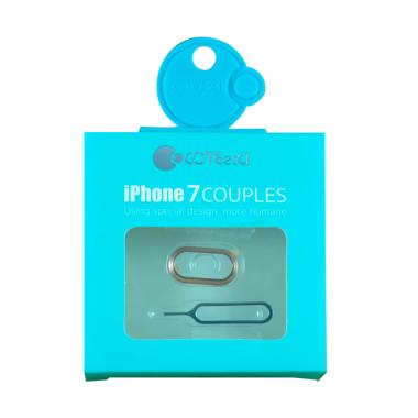 Coteetci Couples Lens Cover for iPh ... Ring Camera & Card Eject]