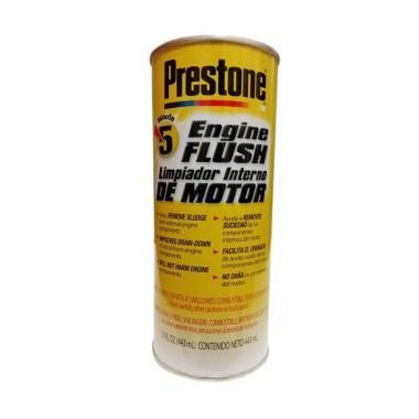 Prestone Engine Flush Made in USA Cairan Pembersih Bagian Dalam Mesin Mobil [443 mL]