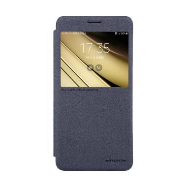 Nillkin Original Sparkle Leather Fl ... Samsung Galaxy C7 - Black