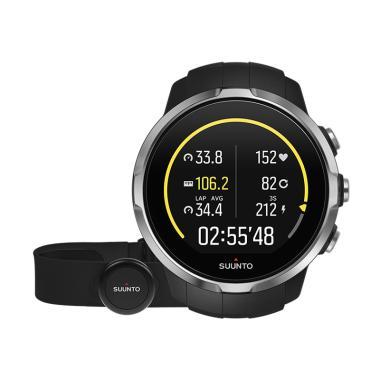 Suunto Spartan Sport Black with Pengukur Detak Jantung HR Smartwatch