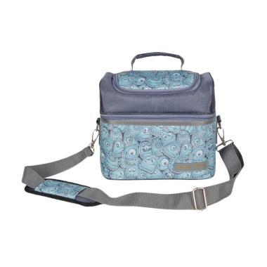 Natural Moms Cookies Monster Tas Penyimpan ASI with Ice Gel Cooler Bag