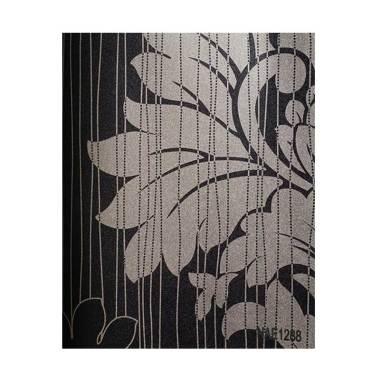 Java Wallpaper NAE1288 Queen Motif  ... asi Dinding - Hitam Putih