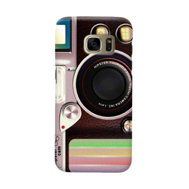 Indocustomcase Lomo Camera Cover Casing for Samsung Galaxy S6 Edge