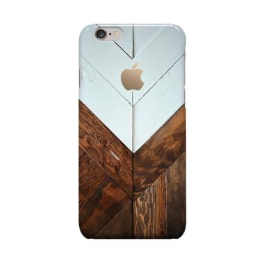 Indocustomcase Wood Casing for Apple iPhone 6 Plus or iPhone 6S Plus
