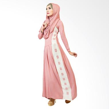 Supernova House Samantha SD Dusty Dress Muslim - Pink Off White