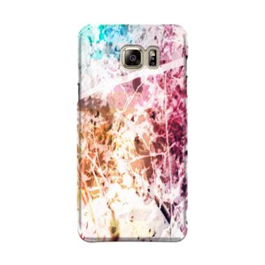 Indocustomcase Marble Trees Cover Casing for Samsung Galaxy Note 5 N920
