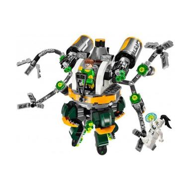 Lepin Bricks 07040 Super Heroe Spiderman Vs Doctor Octopus Blocks & Stacking Toys