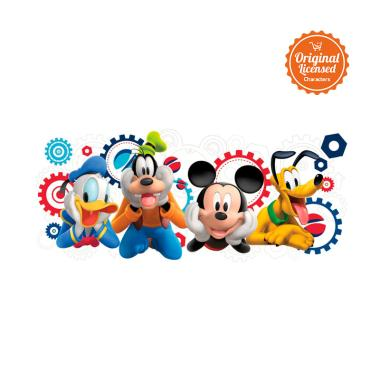 mickey mouse mickey mouse clubhouse capers giant wall decal wallpaper sticker dinding full02